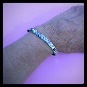 Beautiful Sterling Silver Bracelet